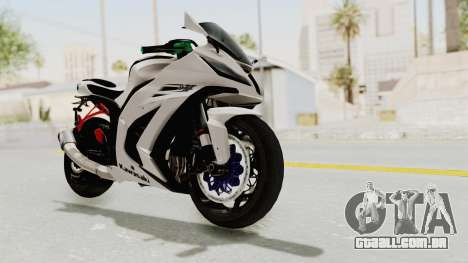 Kawasaki Ninja ZX-10R Modification para GTA San Andreas