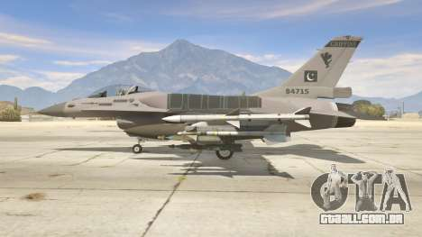 GTA 5 F-16C Block 52 segundo screenshot