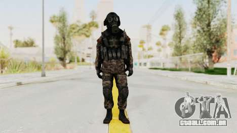 CoD MW3 Russian Military SMG v3 para GTA San Andreas segunda tela