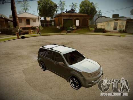 Great Wall Hover H2 2008 para vista lateral GTA San Andreas
