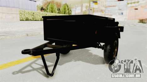 GAZ-704 Trailer para GTA San Andreas