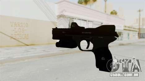 Killzone - M4 Semi-Automatic Pistol para GTA San Andreas segunda tela