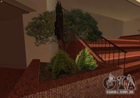 New Interior Radiocenter para GTA San Andreas sexta tela