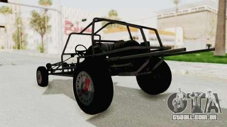 GTA 5 Space Docker para GTA San Andreas traseira esquerda vista