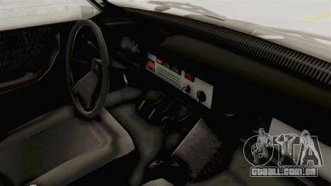 Dacia 1310 TX 1986 para GTA San Andreas vista interior