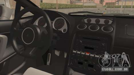 Lamborghini Gallardo 2005 Monster Truck para GTA San Andreas vista traseira