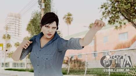 Skin Female from GTA 5 Online para GTA San Andreas