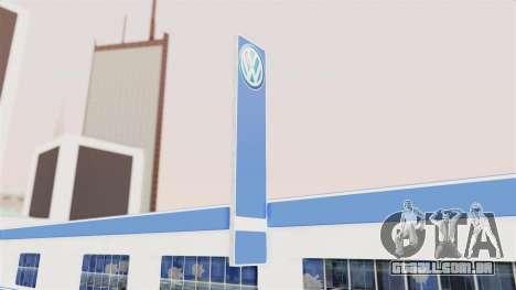 Volkswagen Showroom in San Fierro para GTA San Andreas terceira tela