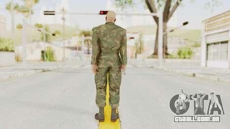 MGSV Ground Zeroes US Soldier No Gear v2 para GTA San Andreas terceira tela