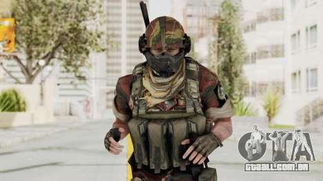 Battery Online Russian Soldier 4 para GTA San Andreas