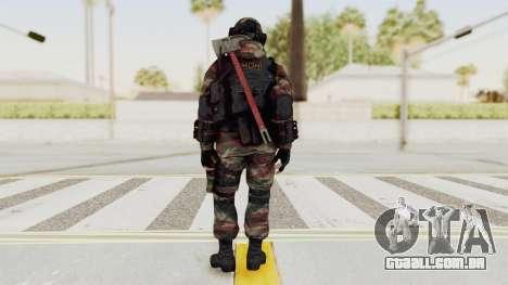 Battery Online Russian Soldier 6 para GTA San Andreas terceira tela