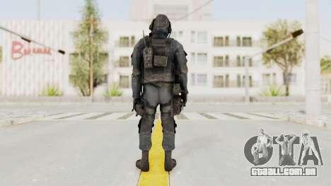CoD MW3 SAS para GTA San Andreas terceira tela