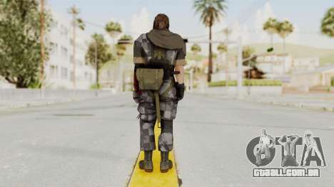 MGSV The Phantom Pain Venom Snake Sc No Patch v7 para GTA San Andreas terceira tela