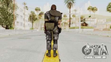 MGSV The Phantom Pain Venom Snake Sc No Patch v7 para GTA San Andreas terceira tela