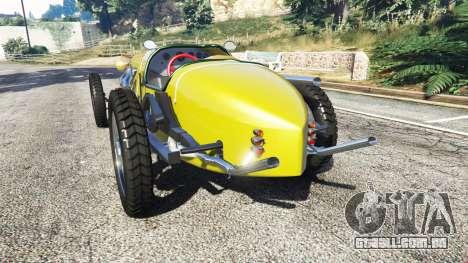 Fiat Mefistofele v1.2 [black tires] para GTA 5