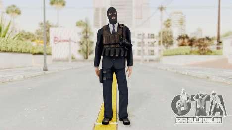 Bourne Conspirancy Euro Mercenary para GTA San Andreas segunda tela