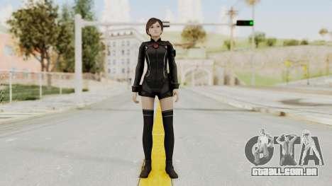 Resident Evil 0 HD Rebecca Chambers Wesker Mode para GTA San Andreas segunda tela