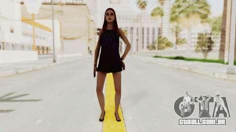 Sasha v2 para GTA San Andreas segunda tela