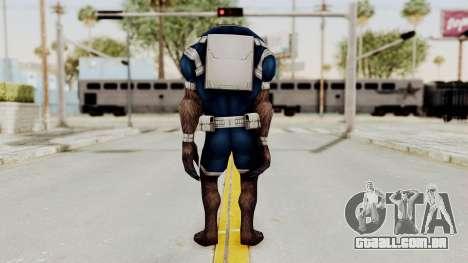 Marvel Future Fight - Warwolf para GTA San Andreas terceira tela
