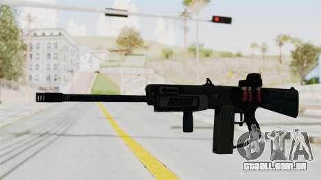 AA-12 Eotech Holo para GTA San Andreas