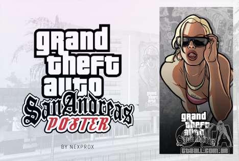 Poster GTA San Andreas HD para GTA San Andreas segunda tela