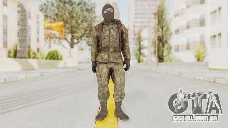 COD Black Ops Russian Spetznaz v2 para GTA San Andreas segunda tela