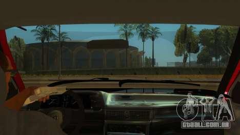 Daewoo Racer GTI para GTA San Andreas vista interior