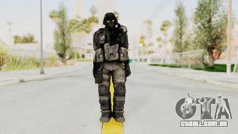 Helghan Assault Trooper para GTA San Andreas segunda tela