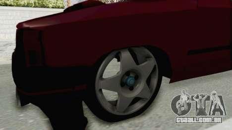 Renault Broadway v2 para GTA San Andreas vista traseira
