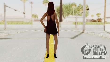 Sasha v2 para GTA San Andreas terceira tela