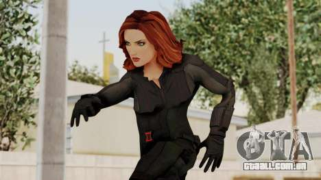 Captain America Civil War - Black Widow para GTA San Andreas