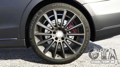 GTA 5 Mercedes-Benz S500 (W222) [michelin] v2.1 traseira direita vista lateral
