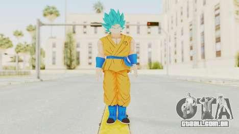 Dragon Ball Xenoverse Goku SJ para GTA San Andreas segunda tela