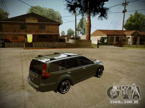 Great Wall Hover H2 2008 para GTA San Andreas vista interior