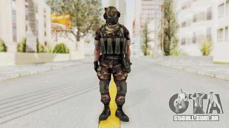 Battery Online Russian Soldier 4 para GTA San Andreas segunda tela