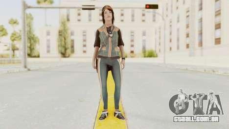 Assassins Creed 4 - Rebecca Crane para GTA San Andreas segunda tela
