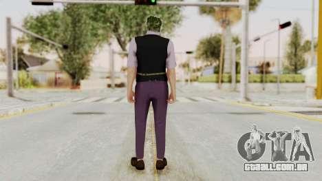 Joker Skin para GTA San Andreas terceira tela