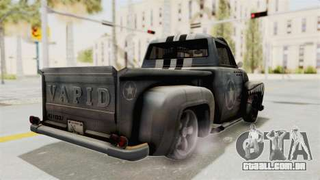 GTA 5 Slamvan Lowrider PJ2 para GTA San Andreas esquerda vista
