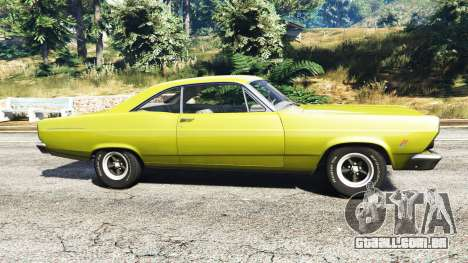 GTA 5 Ford Fairlane 500 1966 v1.1 vista lateral esquerda
