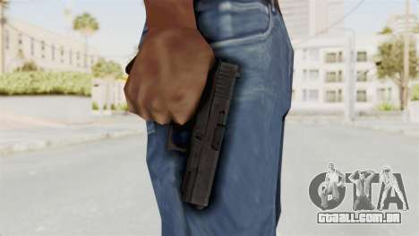 Glock 19 Gen4 para GTA San Andreas