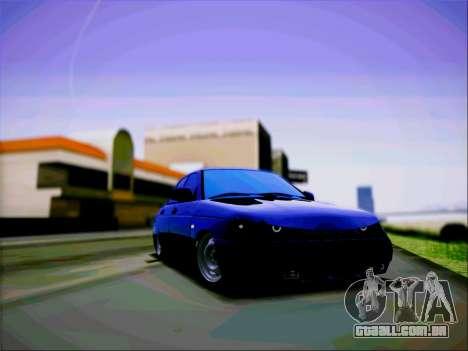 VAZ 2110 Agressivo para GTA San Andreas traseira esquerda vista