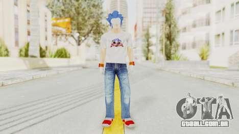 Sonic Man para GTA San Andreas segunda tela