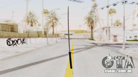 Liberty City Stories - Katana para GTA San Andreas segunda tela