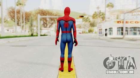 Marvel Heroes - Spider-Man (Civil War) para GTA San Andreas terceira tela