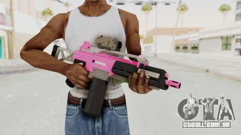 Special Carbine Pink Tint para GTA San Andreas terceira tela