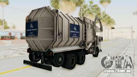 New Trashmaster para GTA San Andreas esquerda vista