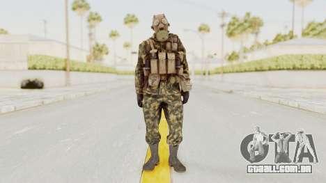 COD Black Ops Russian Spetznaz v6 para GTA San Andreas segunda tela