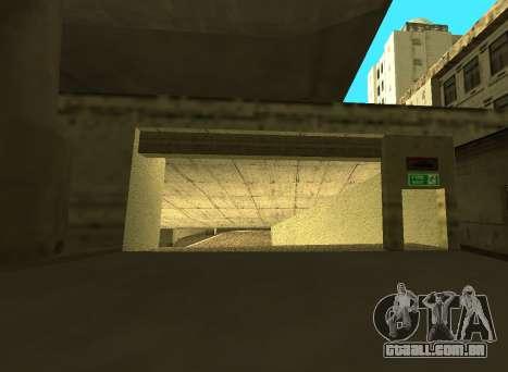 LSPD New Garage para GTA San Andreas segunda tela