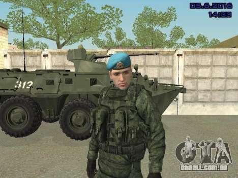 Modern Russian Soldiers pack para GTA San Andreas décimo tela