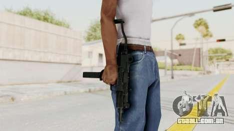 IMI Mini Uzi v2 para GTA San Andreas terceira tela